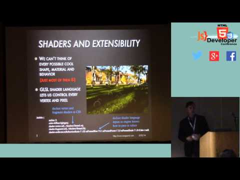 HTML5DevConf May2014: Tony Parisi Glam: a Declarative Language for 3D Web Content