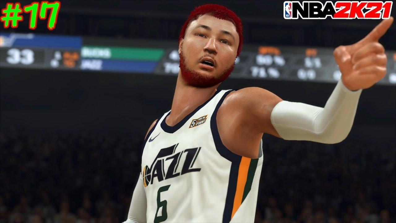 【NBA 2K21】#17 みんな大好きヤニス初登場w 念願の初勝利を共に祝おう🎉【マイキャリア】