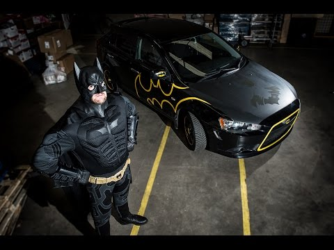 Superhero fan unveils his Batmobile [DEADLINE NEWS]
