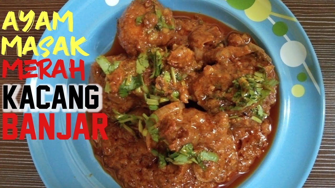 resepi ayam masak merah mudah  simple youtube Resepi Ayam Masak Negro Enak dan Mudah