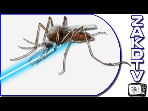 PHOTONIC FENCE NEWS Mosquito Killing Laser Trap | Touch Screen From