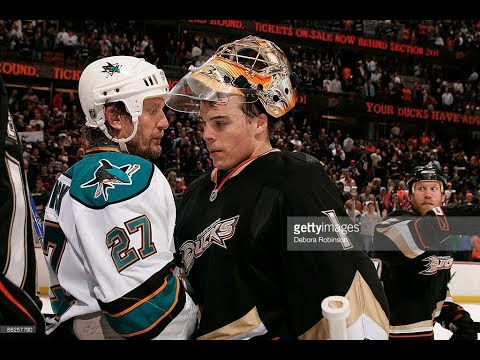 Highlights San Jose Sharks - Anaheim Ducks NHL Playoffs 2009