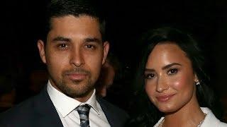 Wilmer Valderrama ALL IN For Demi Lovato Helping Her Through REHAB