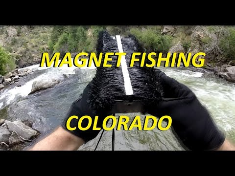 Magnet Fishing in Colorado (Clear Creek / South Platte River)