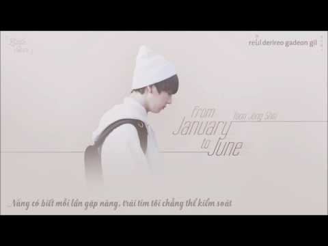 [Vietsub+Kara] From January to June (Yoon Jong Shin)