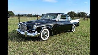 """1957 Studebaker Golden Hawk Super-Charged """"Guild TV Star"""""""