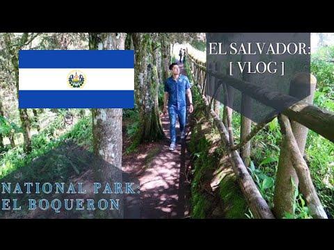 First VLOG in [EL SALVADOR]- Visiting El Boqueron National Park
