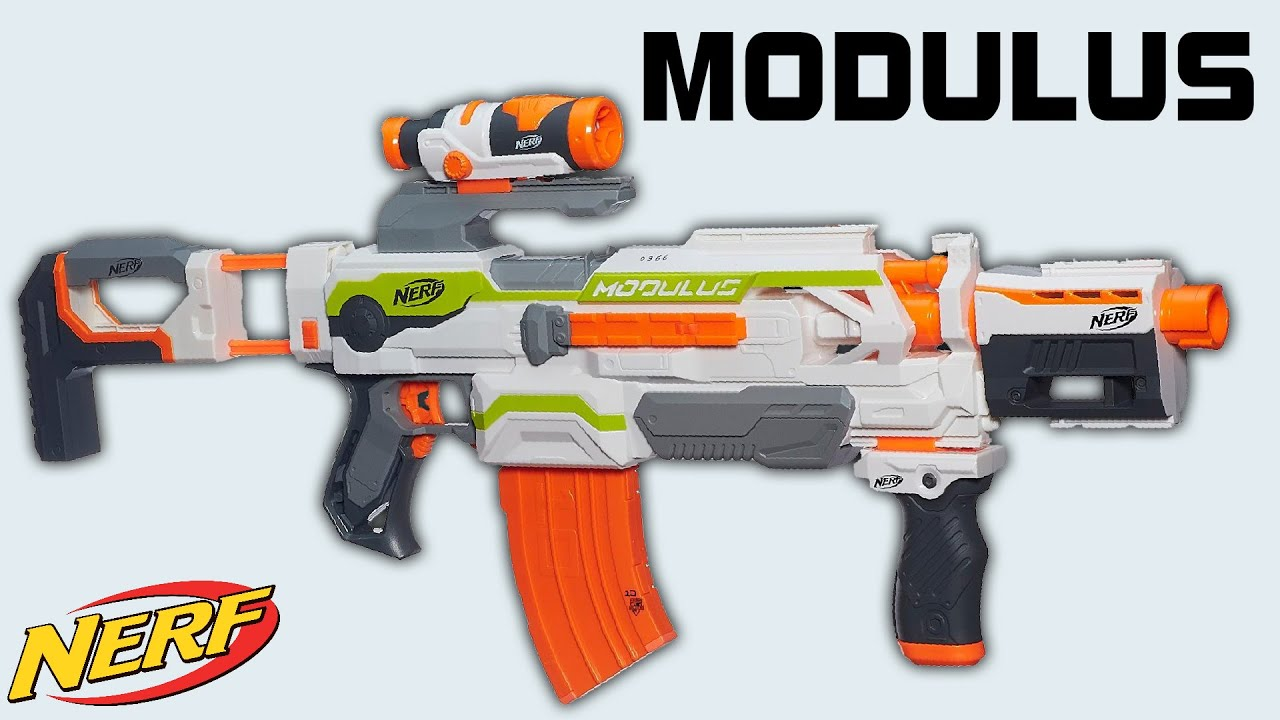 Nerf Modulus Review Und Test Magicbiber Youtube