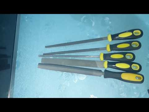 DIY Crafts  DIY Crafts 5 - Pcs 200mm Engineer Metal File Set Soft Grip Assorted Rasp Tool