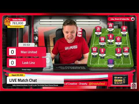 Man United 2-1 LASK Mark Goldbridge BEST BITS