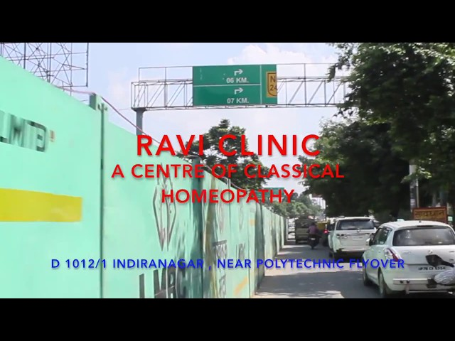 Ravi Clinic - Location - A Centre of Classical homeopathy - Dr.Ravi Singh