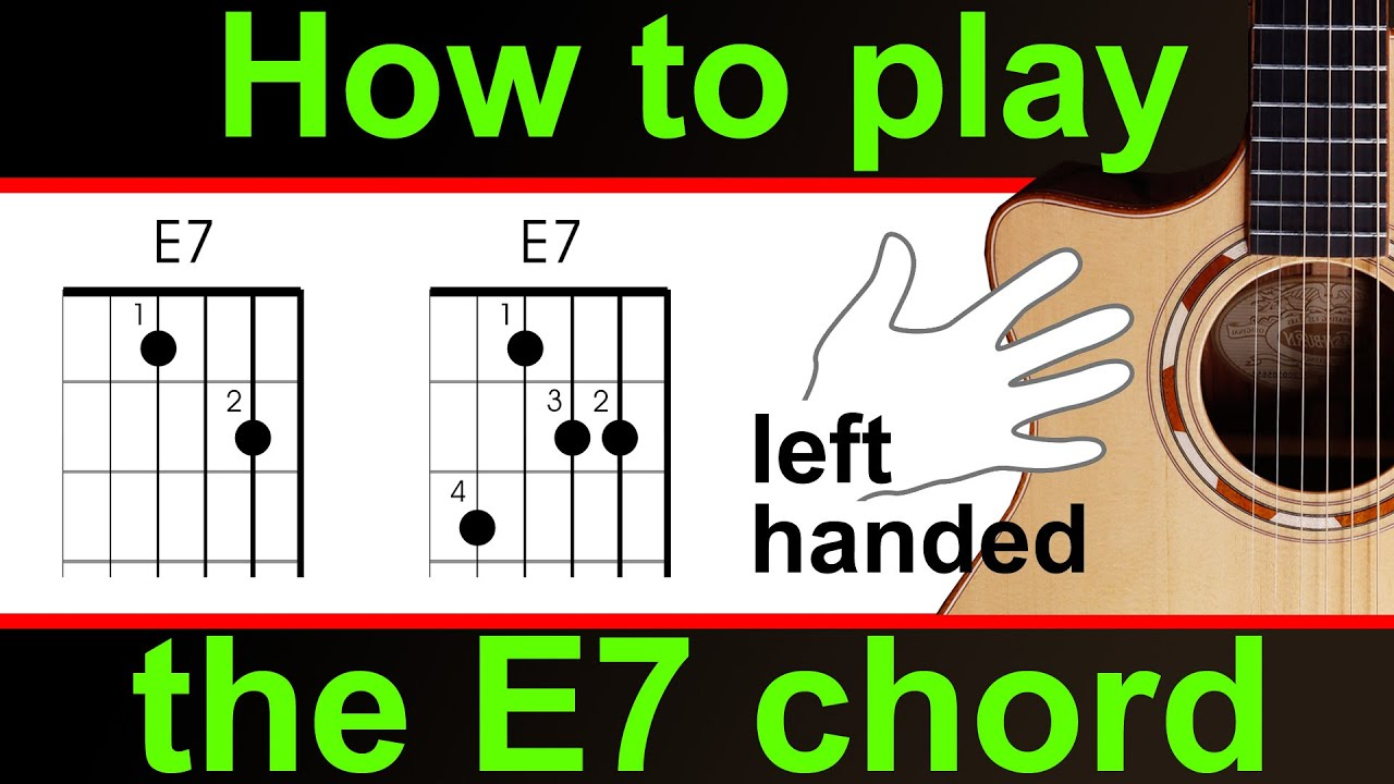 E7 Chord Guitar Gallery Piano Chord Chart With Finger Positions