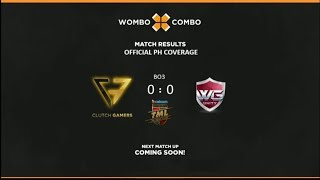 Clutch Gamers vs WG.Unity Game 2 BO3 The Major League