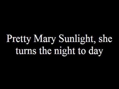 Jerry Reed Pretty Mary Sunlight with Lyrics (Scooby Doo