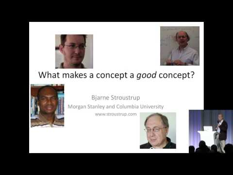 Bjarne Stroustrup - Good Concepts - Secret Lightning Talks - Meeting C++ 2016