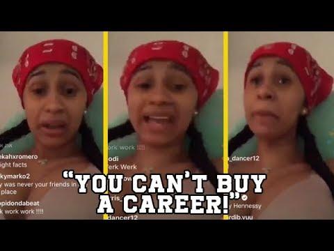 Cardi B Responds To Nicki Minaj Saying Her Career Was Bought!