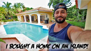 I BOUGHT A VACATION HOME ON AN ISLAND & this IS WHAT HAPPENED! (PART 1)