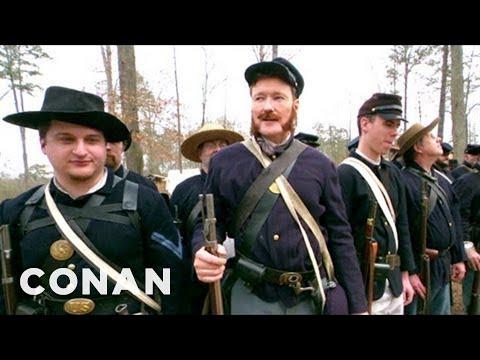 Conan Becomes A Civil War Reenactor - CONAN On TBS