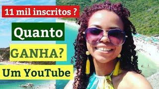 QUANTO GANHA UM YOUTUBER? COM 11 MIL INSCRITOS  #QUANTOGANHAUMYOUTUBER FLAVIA E CARLOS