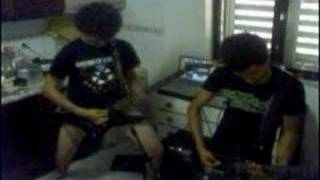 Lamb of God - Hourglass (Loureiro & Cotô on boxers!!!) Funny