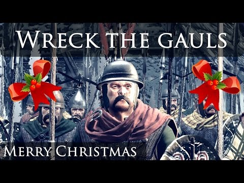 Wreck the Gauls - Merry Christmas from Patchy!