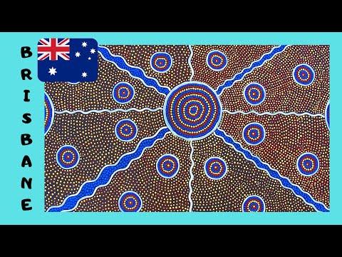 BRISBANE: Unique ABORIGINAL (INDIGENOUS) AUSTRALIAN ART, MUSEUM OF MODERN ART
