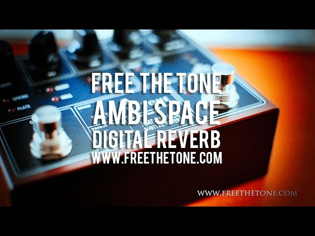 Free The Tone: AMBI SPACE AS-1R Digital Reverb
