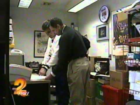 Marvin McGraw WBRZ TV LSU Football Player Lester Earl Skips Town
