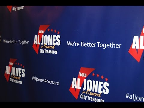 Al Jones - Oxnard City Treasurer Candidate 9-18-2016