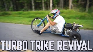 420cc Turbo Trike Revival + Tike Trike Mods