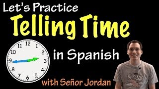Telling the time in English Learn to tell time on an analog clock to the five-minute intervals. I use a clock that shows the numbers for the minute