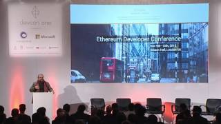 DEVCON1: Dangerous Old Men: Cypherpunk's Failure, Ethereum's Success - Vinay Gupta feat. Imogen Heap