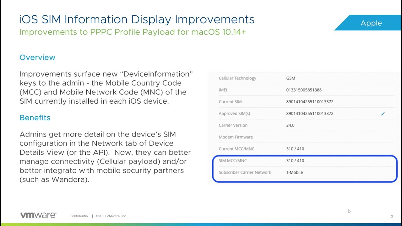 VMware Workspace ONE UEM™ Powered by AirWatch 1811 Release Notes