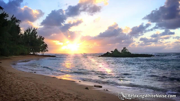 Permanent Link to Ocean Sounds for Sleeping, Studying or Relaxing | Hawaii Nature White Noise 10 Hours