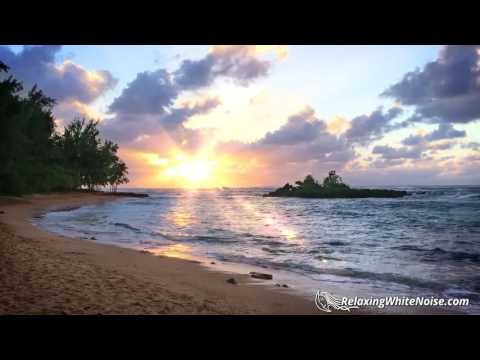 Ocean Sounds for Sleeping, Studying, Calming Ba or Relaxing  Hawaii Nature White Noise 10 Hours