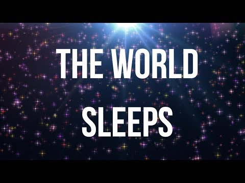 THE WORLD SLEEPS (Voice Version) A beautiful guided meditation for grounding and deep sleep