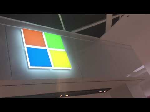 Playing the windows xp startup earrape sound at Max volume at a microsoft store