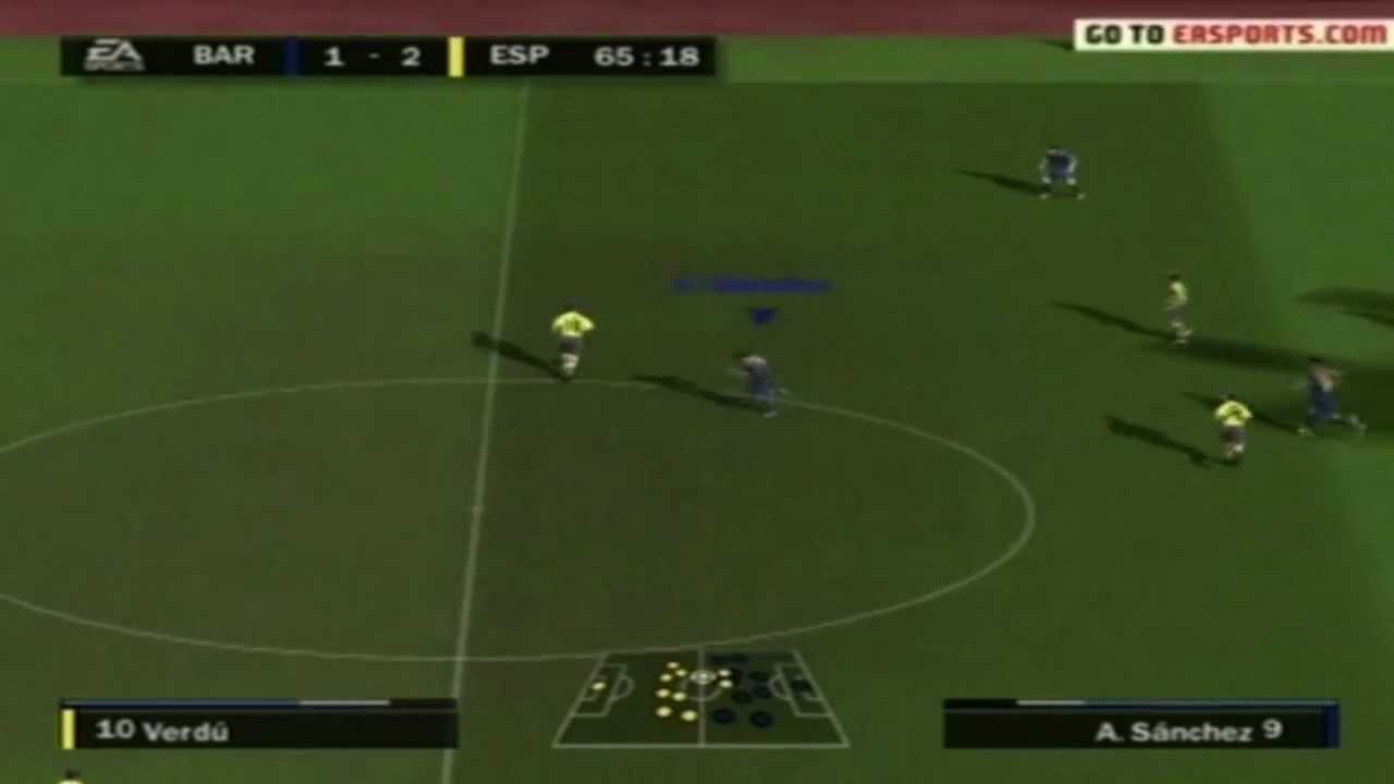 FIFA 13 PS2 Gameplay HD YouTube