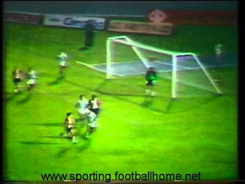 Sporting - 0 x Southampton - 0 de 1981/1982 Uefa - 2 Elim - 2 mão