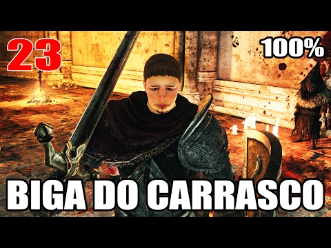DARK SOULS 2 SOTFS COMPLETO #23 - INFERNO DOS CALANGUINHOS E BIGA DO CARRASCO 2X NG+