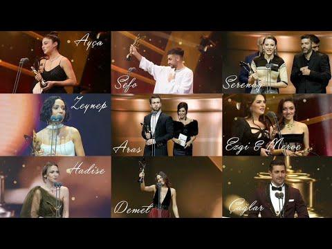 الممثلين و الممثلات الاتراك الذين حصلوا على جائزة الفراشة الذهبية