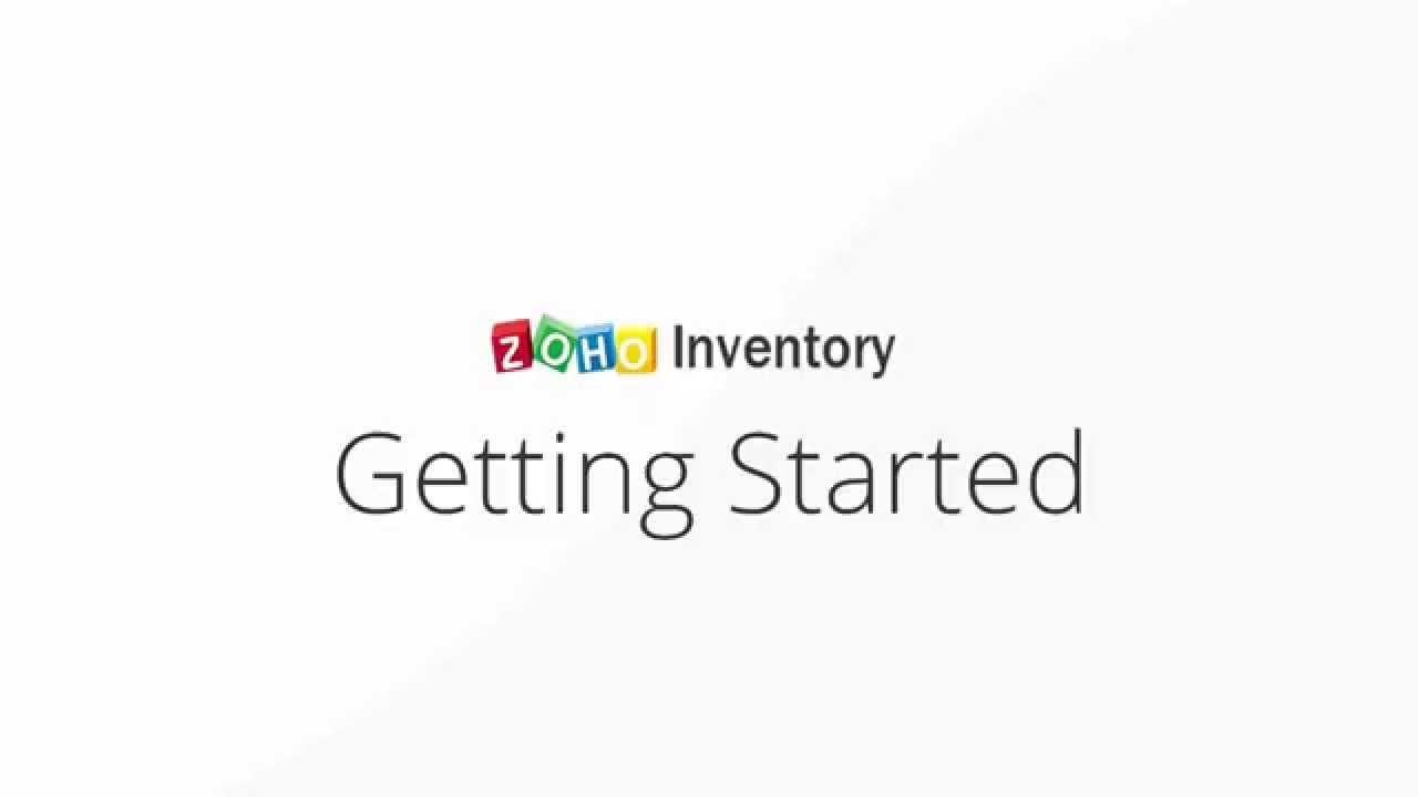 Zoho Inventory Getting Started