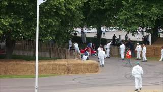 Accident at Goodwood Festival of Speed 2017