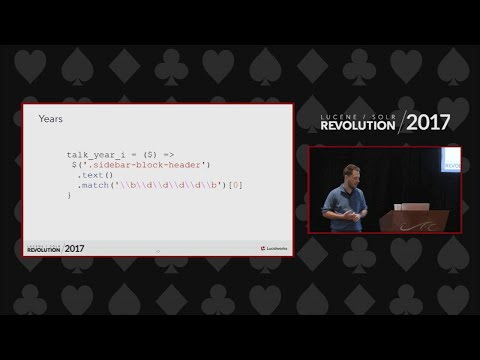 Indexing Videos in Solr - Gary Sieling, Wingspan Technologies