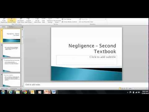 Year 11 and 12 Legal Studies Video 3 Practice Exam Answer and Final Revision Notes Negligence