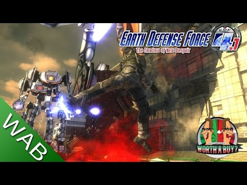 Earth Defense Force 4.1 Review (PS4) - Worthabuy?