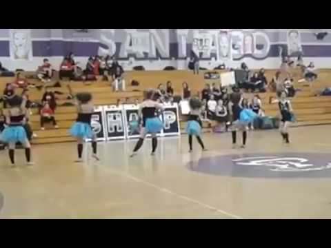 "1st Place Blue Rose Dance Team- ""Electricity"" Jazz group routine 2017 (Santiago Competition)"