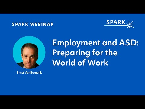 Employment and ASD: Preparing for the World of Work