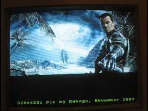 Atari VBXE - Crisis, Falcon (pictures)