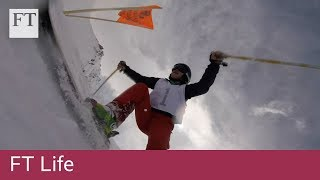 How women in Afghanistan are learning to ski